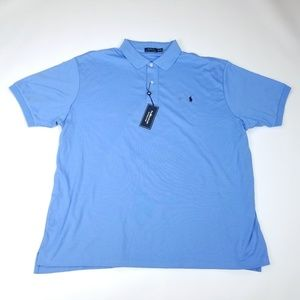 Polo Ralph Lauren Polo Shirt Interlock Blue 3XL